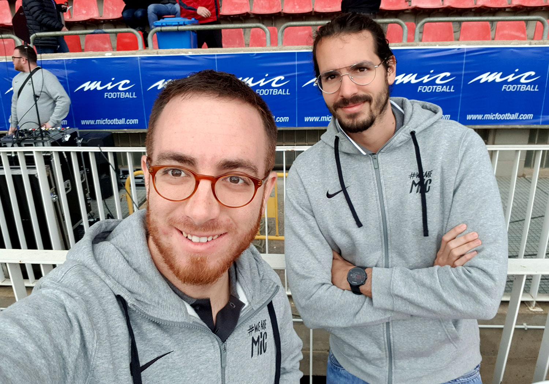Rafael Liñán (CEO) Y Carlos Torres (CTO) Descubren Como Funciona El Mic Football 2019